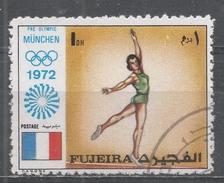 Fujeira 1972. #A (U) Gymnast, Olympic Games, Munich * - Fujeira