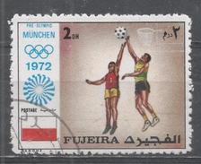 Fujeira 1972. #B (U) Basketball, Olympic Games, Munich * - Fujeira
