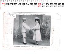 5472  COMPAGNIA LIRICA LILIPUZZIANA DEI FRATELLI BILLAUD LA GEISHA DUETTO DEI BALOCCHI    1925 - Cantanti E Musicisti