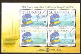 Bahamas 2005 Yvertn° Bloc 103 *** MNH Cote 17 Euro 50 Ans Europa 50 Jaar - Bahamas (1973-...)