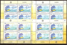 Bahamas 2005 Yvertn° 1213-1216 *** MNH Feuillets Cote 68 Euro 50 Ans Europa 50 Jaar - Bahamas (1973-...)