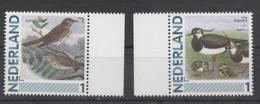 NETHERLANDS, MNH, PERSONALIZED STAMPS, BIRDS , 2v - Birds