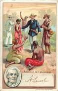 Ref N454- Dessin Illustrateur - Abolition De L Esclavage -theme Esclaves -politique -lincoln -usa -etats Unis D Amerique - Geschiedenis