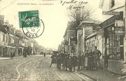 CHARLEVAL, La Grande Rue - France