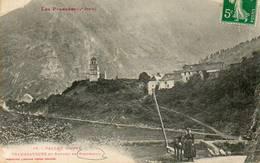 CPA - RIEUMAJOU (31) - Aspect De L'entrée Du Bourg Et De La Vallée D'Aure En 1910 - France