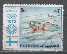 Fujeira 1972. #C (U) Swimming, Olympic Games, Munich * - Fujeira