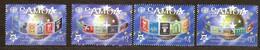Samoa 2005 Yvertn° 996-999 *** MNH  Cote 18 Euro 50 Ans Europa 50 Jaar - Samoa