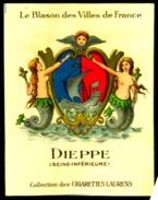 Cigarettes Laurens Blason Des Villes De France Historique Des Armoiries Dieppe 2 Scans - Cigarettes
