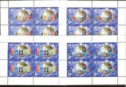 Samoa 2005 Yvertn° 996-999 *** MNH Feuillets Cote 72 Euro 50 Ans Europa 50 Jaar - Samoa