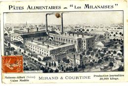MAISONS-ALFORT (Seine) -- USINE  MODELE : MIRAND & COURTINE    Divers Défauts Et Pli état - Maisons Alfort
