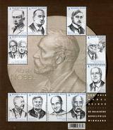 Belgium - 2016 - Nobel Prize Winners From Belgium - Mint Souvenir Sheet - Belgium