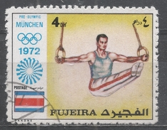 Fujeira 1972. #D (U) Gymnast And Rings, Olympic Games, Munich * - Fujeira