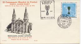 Voetbal: FDC Brazilië - 1970 - Coupe Du Monde