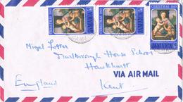 20899. Carta Aerea JAMAICA  1969. Stamp Chistmas Madonna - Jamaica (1962-...)