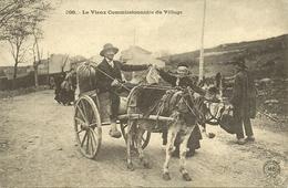 HAUTE LOIRE, Le Vieux Commissionnaire Du Village, Attelage D'âne - Ohne Zuordnung
