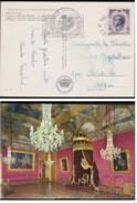 Grote Kaart Monaco Monte Carlo 1972 Rainier III Prince De PALAIS SALLE DU TRONE Grand Format Royalty Monarchie - Monaco
