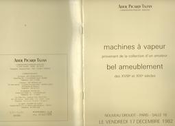 Machine à Vapeur  Nouveau Drouot 1982 - Livres, BD, Revues