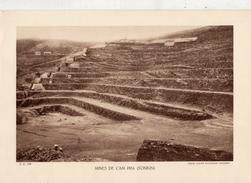 MINES DE CAM PHA, TONKIN, Animée, Planche Densité = 200g, Format: 20 X 29 Cm, (Ag. Economique Indochine) - Documents Historiques