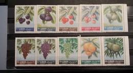 Lebanon, 1993, Mi: 797/06 (MNH) - Fruits