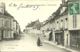 MAUVES SUR HUISNE, Rue Principale - France