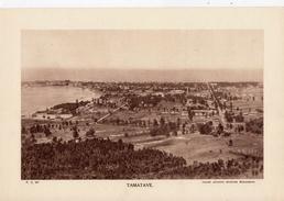 TAMATAVE, MADAGASCAR, Planche Densité = 200g, Format: 20 X 29 Cm, (Aviation Militaire Madagascar) - Historical Documents