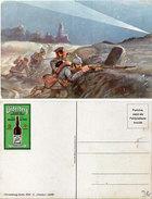 UNDERBERG - Militaria - Soldats Dans Tranchée  (94130) - Werbepostkarten
