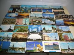 Un Lot De 100 Cartes Postales De La Tour Eiffel, Toutes Différentes - Tour Eiffel