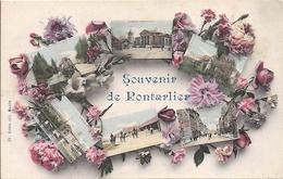 11626.....PONTARLIER, Souvenir De En 6 Vues - Pontarlier