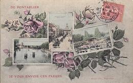 11627.....PONTARLIER, Souvenir De En 3 Vues - Pontarlier