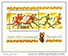 Russia\USSR 1980 Olympic Games In Moscow S\S MNH - Summer 1980: Moscow