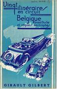 Brochure De 1950 GIRAULT GILBERT : Vingt Itinéraires En Circuit En Belgique, Grand-Duché Et Régions Limitrophes - Culture