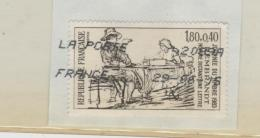 Frankreich 221 / Fragment, Tag Der Briefmarke 1983 O - Oblitérés