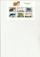 ANTIGUA ET BARBADE - N° 2232 A 2237 -NEUF XX - CHATONS - ANNEE 1997 - Antigua E Barbuda (1981-...)