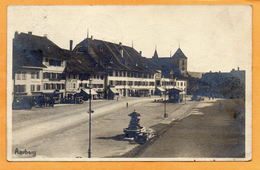Aarberg 1923 Postcard - BE Berne