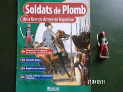 Lieutenant De Chasseurs - Soldats De Plomb De La Grande Armée De Napoléon - Figurines
