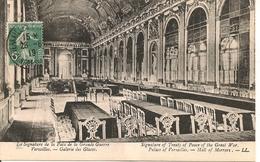 VERSAILLES CONGRÉS DE LA PAIX 1919- Voir Câchet Au Dos - Versailles