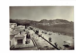 Cpm - Espagne - COSTA BRAVA - ROSAS - Plage Quartier Résidence - Baigneurs - N°512 Fot. M.C. - Pétanque