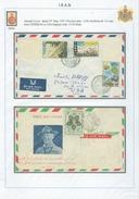 PERSIA - IRAN; 2 Nice Airmail Cover - Iran
