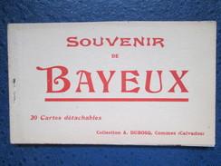 BAYEUX. CARNET - Bayeux