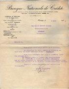 VP7217 - Lettre - Banque Nationale De Crédit à FECAMP & PARIS - Bank & Insurance
