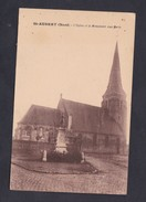 St Saint Aubert (59) - Eglise Et Monument Aux Morts ( Ed. Pierre Salle ) - Other Municipalities