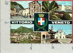 CARTOLINA VG ITALIA - VITTORIO VENETO (TV) - Panorama - Vedutine - 10 X 15 - ANN. 1971 - Treviso