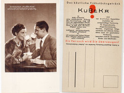 """Ja Tatsächlich """"KUBEKA"""" Schmeckt Und Bekommt Grosatig   - Café  (94139) - Pubblicitari"""