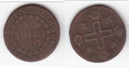 **** ITALIE - ITALIA - SAVOIE - SAVOIA - UNO SOLDI 1718 - 1 SOLDI 1718 Vittorio Amedeo II **** EN ACHAT IMMEDIAT !!! - Piemonte-Sardegna, Savoia Italiana