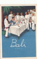Hôtels Et Restaurants - Métiers Serveurs - Restaurant Bali Paris - Illustrateur - Hotels & Restaurants
