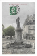 CHALON Sur SAONE  (cpa 71)  Statue De Neptune -   - L 1 - Chalon Sur Saone