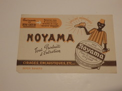 """Buvard """"Noyama"""" Tous Produits D'entretien à Boulogne (78). - Blotters"""