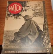 Match. 30 Novembre 1939. Suisse, La Plus Vieille Démocratie Du Monde.Mines En Mer. - Books, Magazines, Comics