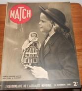Match. 23 Novembre 1939. Chevalier Chante Au Front. Gort, Dit Le Tigre. - Books, Magazines, Comics