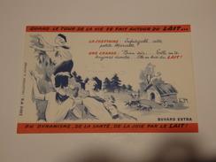 """Buvard """"Quand Le Tour De La Vie Se Fait Autour Du Lait..."""" Série N°6. - Alimentare"""